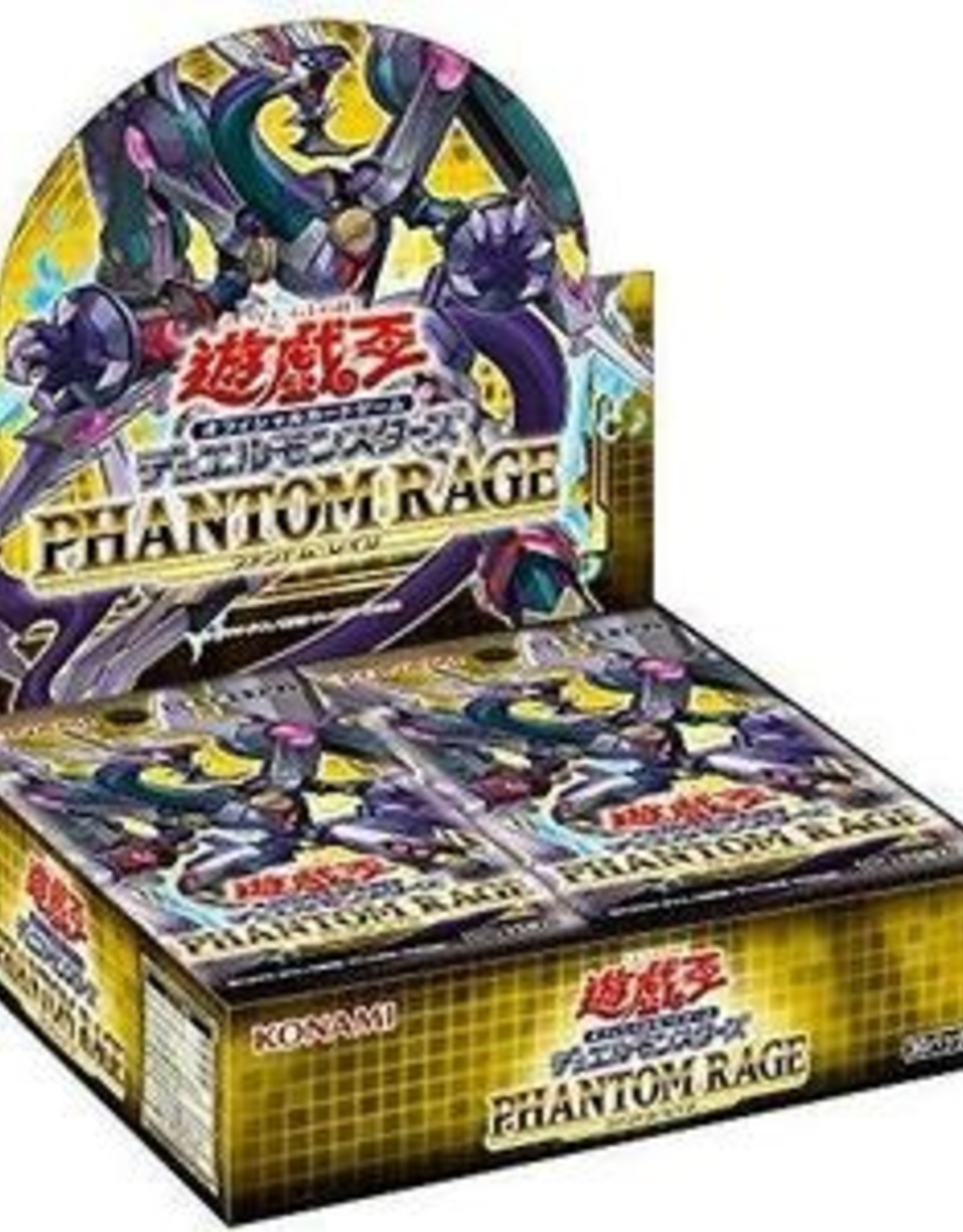 Konami Yu-Gi-Oh Phantom of Rage Booster Box