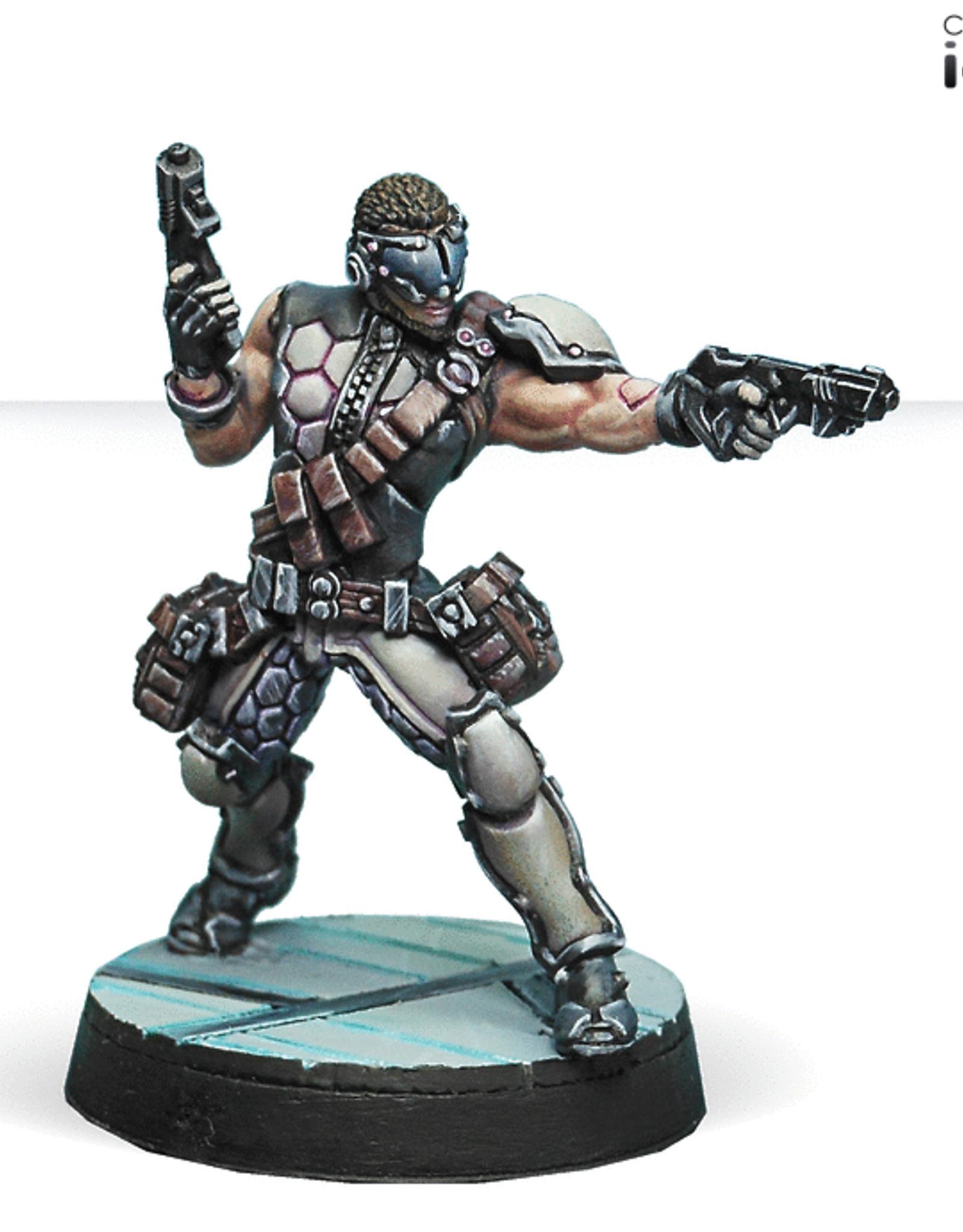 Corvus Belli Acmon, Sergeant of Dactyps (2 Breaker Pistols)