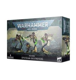 Games Workshop Necrons Ophydian Destroyers