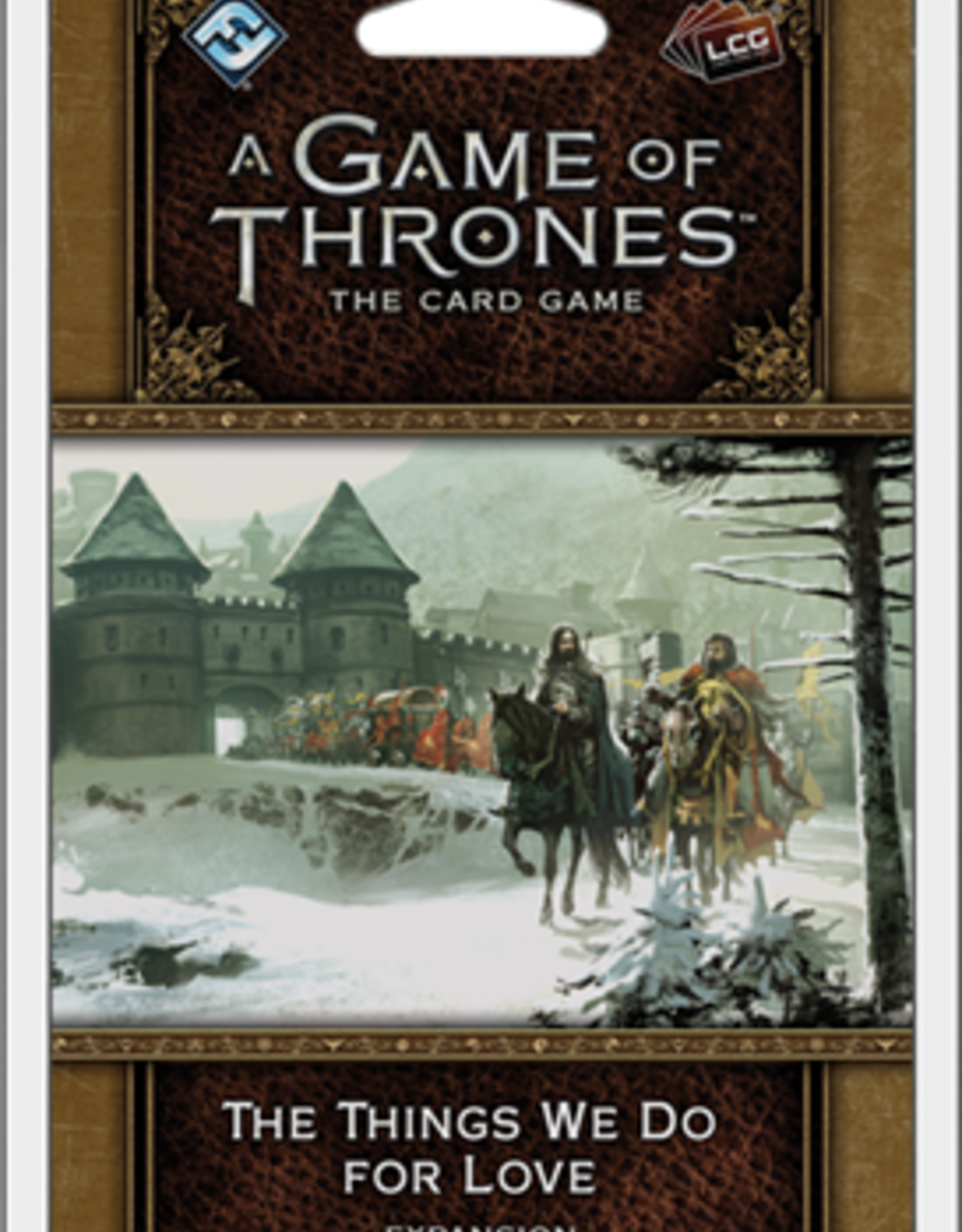 Fantasy Flight Games A Game of Thrones LCG 2nd Ed.: The Things We Do for Love (EN)