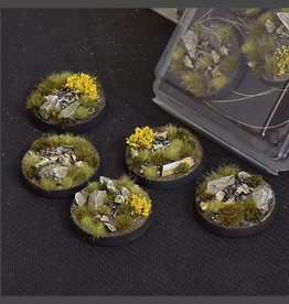 Gamers Grass Highland Bases Pre-Painted (5x 40mm Round)