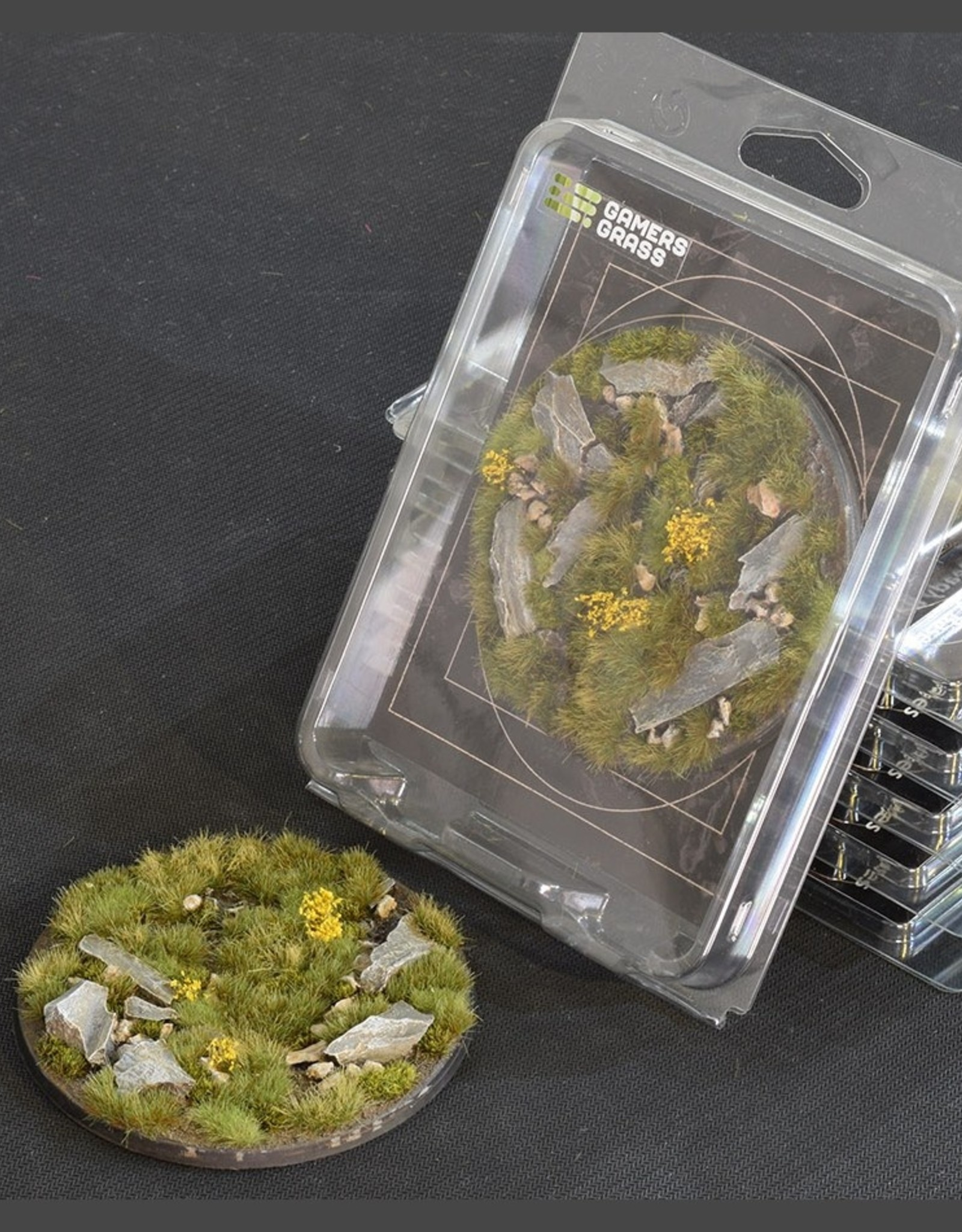 Gamers Grass Highland Bases Pre-Painted (1x 100mm Round)