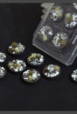 Gamers Grass Winter Bases Pre-Painted (8x 32mm Round)