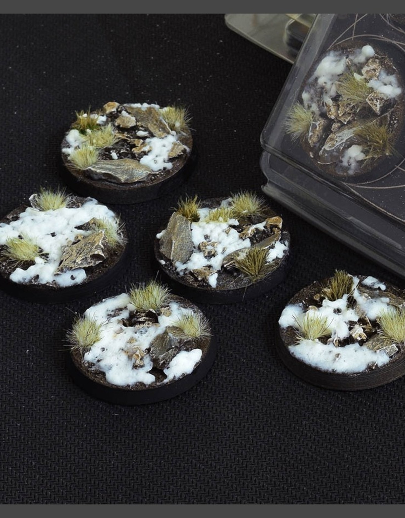 Gamers Grass Winter Bases Pre-Painted (5x 40mm Round)
