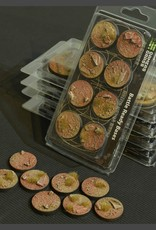 Gamers Grass Badlands Bases Pre-Painted (8x 32mm Round)
