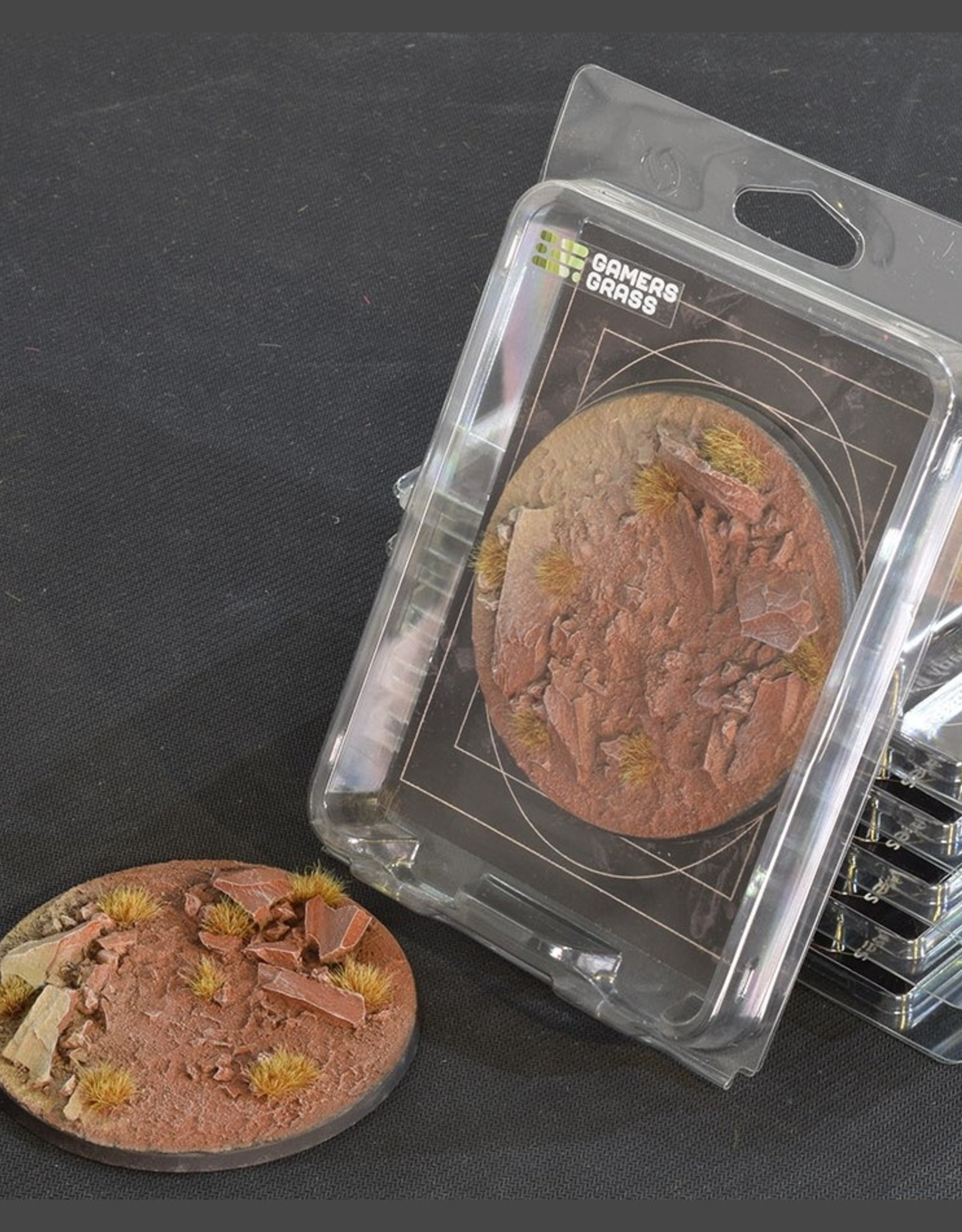 Gamers Grass Badlands Bases Pre-Painted (1x 100mm Round)