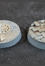 Gamers Grass Urban Warfare Bases Pre-Painted (8x 32mm Round)