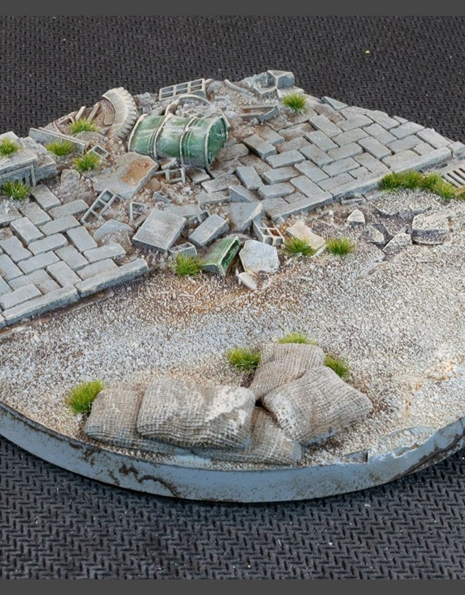 Gamers Grass Urban Warfare Bases Pre-Painted (1x 100mm Round)