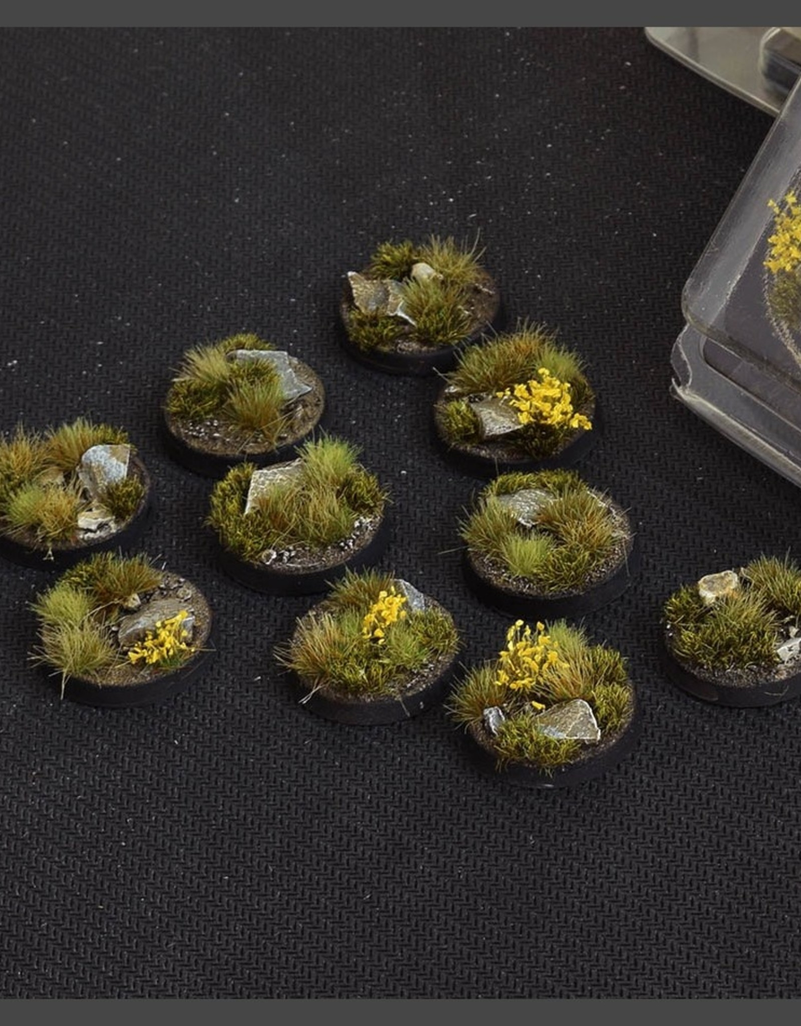 Gamers Grass Highland Bases Pre-Painted (10x 25mm Round )