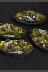 Gamers Grass Highland Bases Pre-Painted (4x 60mm Oval)