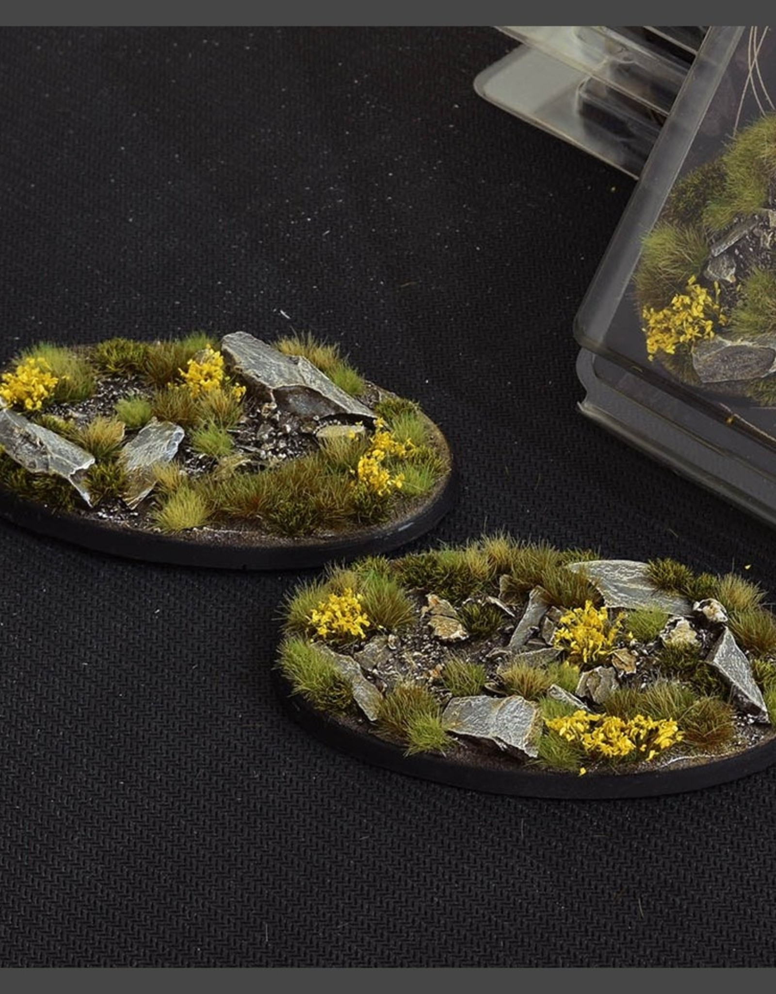 Gamers Grass Highland Bases Pre-Painted (2x 90mm Oval)