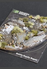 Gamers Grass Winter Bases Pre-Painted (1x 170mm Oval)