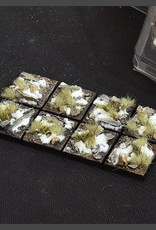 Gamers Grass Winter Bases Pre-Painted (8x 25mm Square)