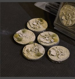 Gamers Grass Arid Steppe Bases Pre-Painted (5x 40mm Round)