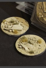 Gamers Grass Arid Steppe Bases Pre-Painted (2x 60mm Round)