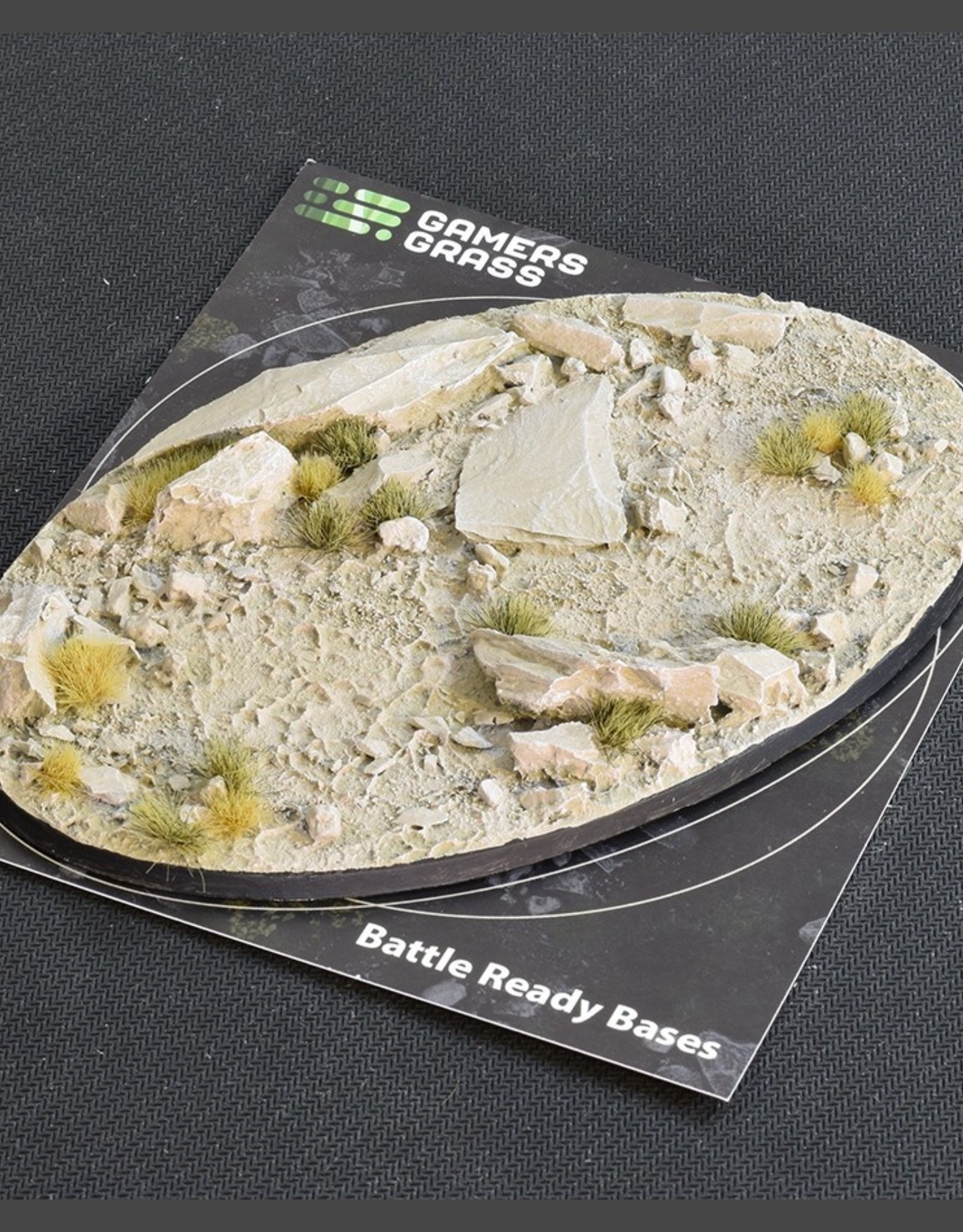 Gamers Grass Arid Steppe Bases Pre-Painted (1x 170mm Oval)