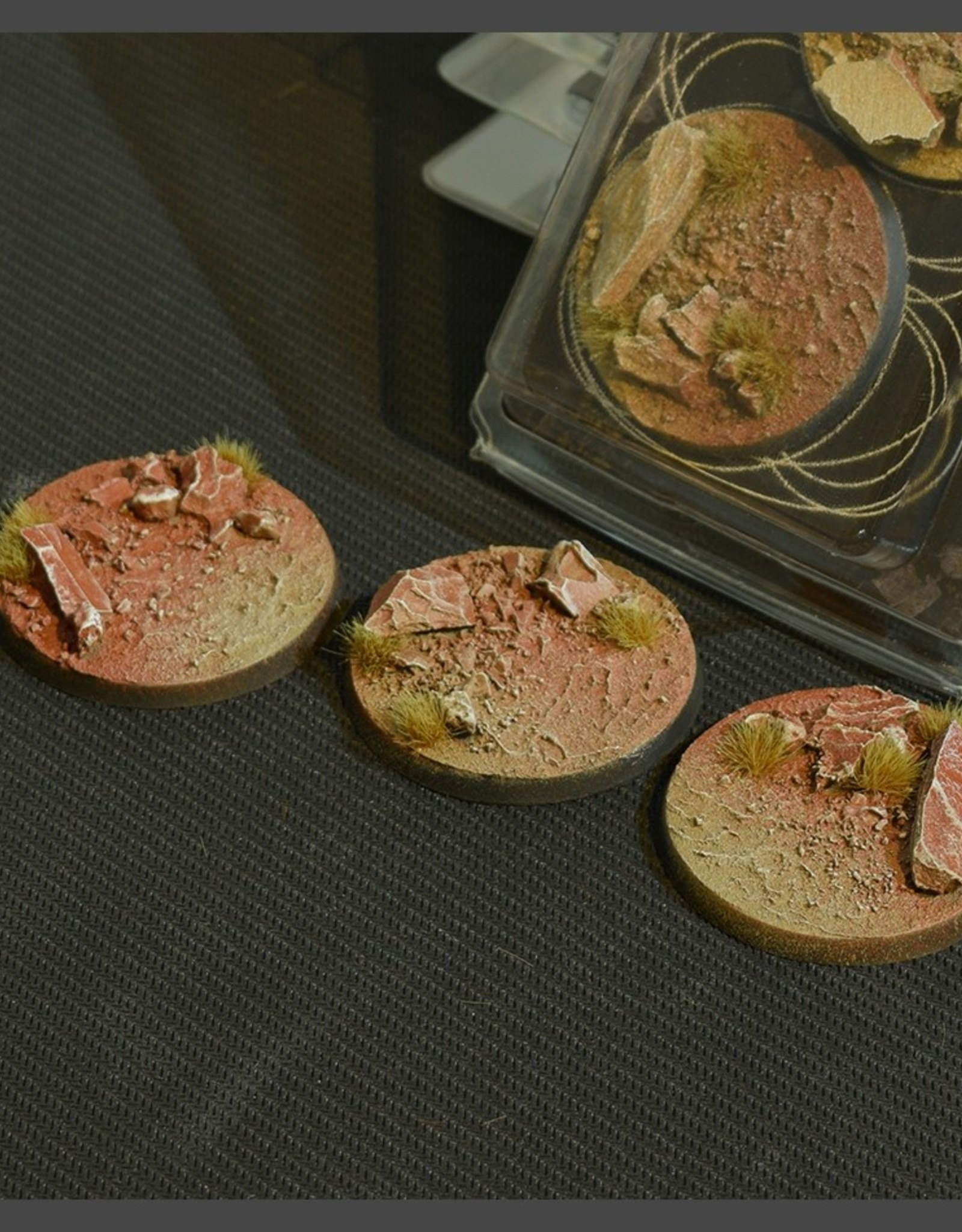 Gamers Grass Badlands Bases Pre-Painted (3x 50mm Round)