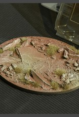 Gamers Grass Badlands Bases Pre-Painted (1x 120mm Oval)