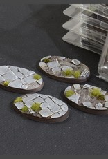 Gamers Grass Temple Bases Pre-Painted (4x 60mm Oval)
