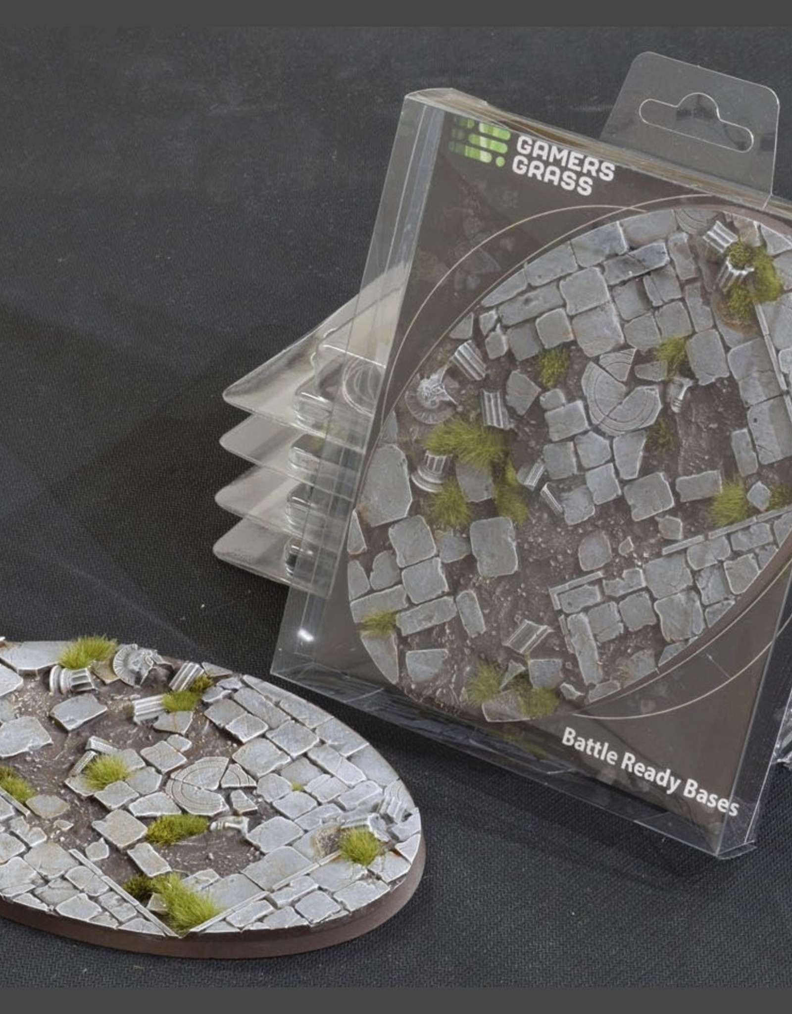 Gamers Grass Temple Bases Pre-Painted (1x 170mm Oval)