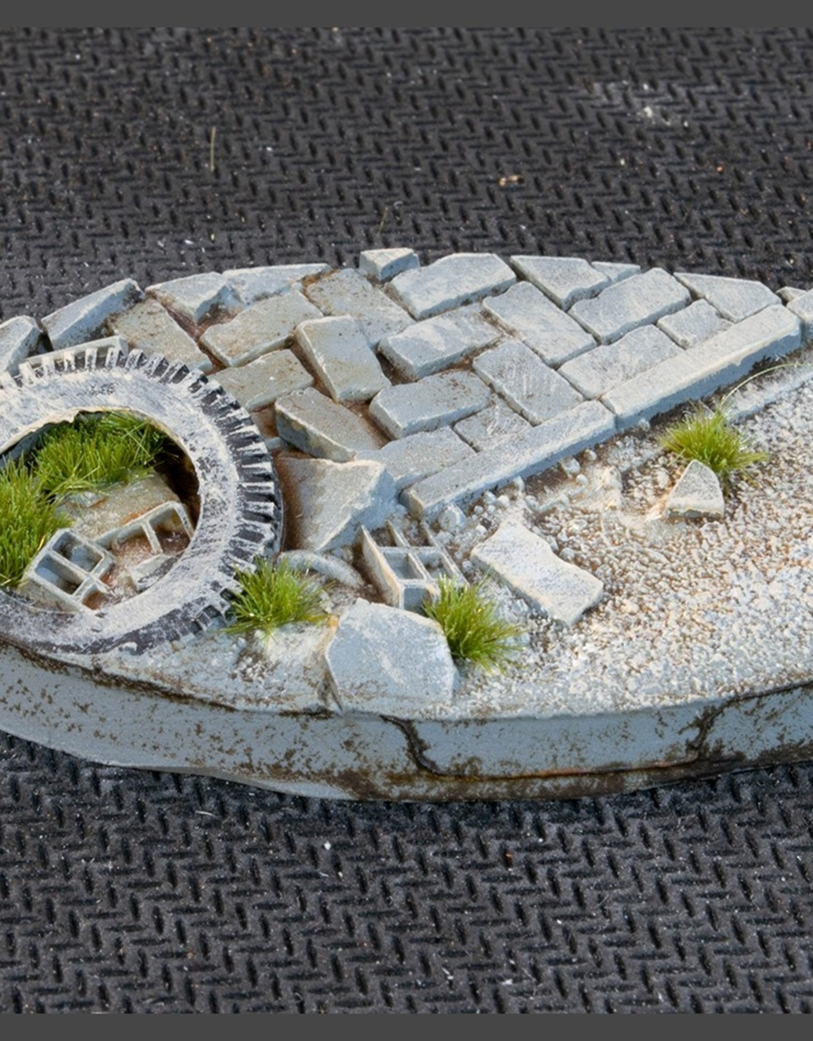 Gamers Grass Urban Warfare Bases Pre-Painted (4x 60mm Oval)