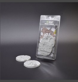 Gamers Grass Temple Resin Bases Unpainted (2x 60mm Round)