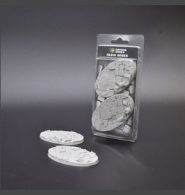 Gamers Grass Temple Resin Bases Unpainted (2x 90mm Oval)