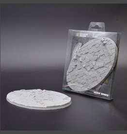 Gamers Grass Temple Resin Bases Unpainted (1x 170mm Oval)