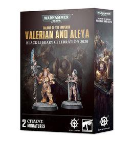 Games Workshop Adeptus Custodes Valerian and Aleya