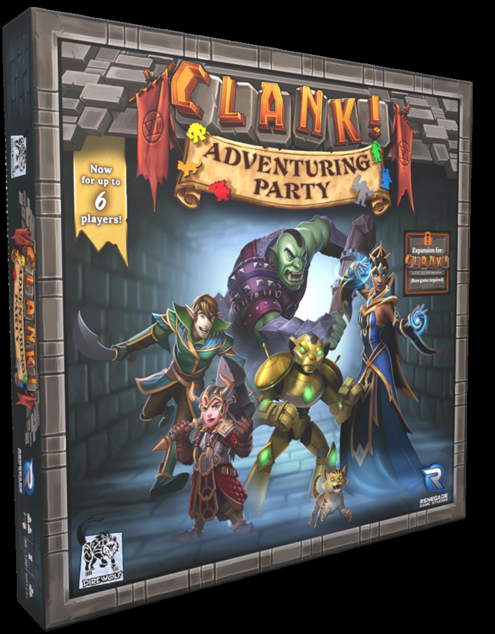 Renegade Games Clank! Adventuring Party Arriving (EN)