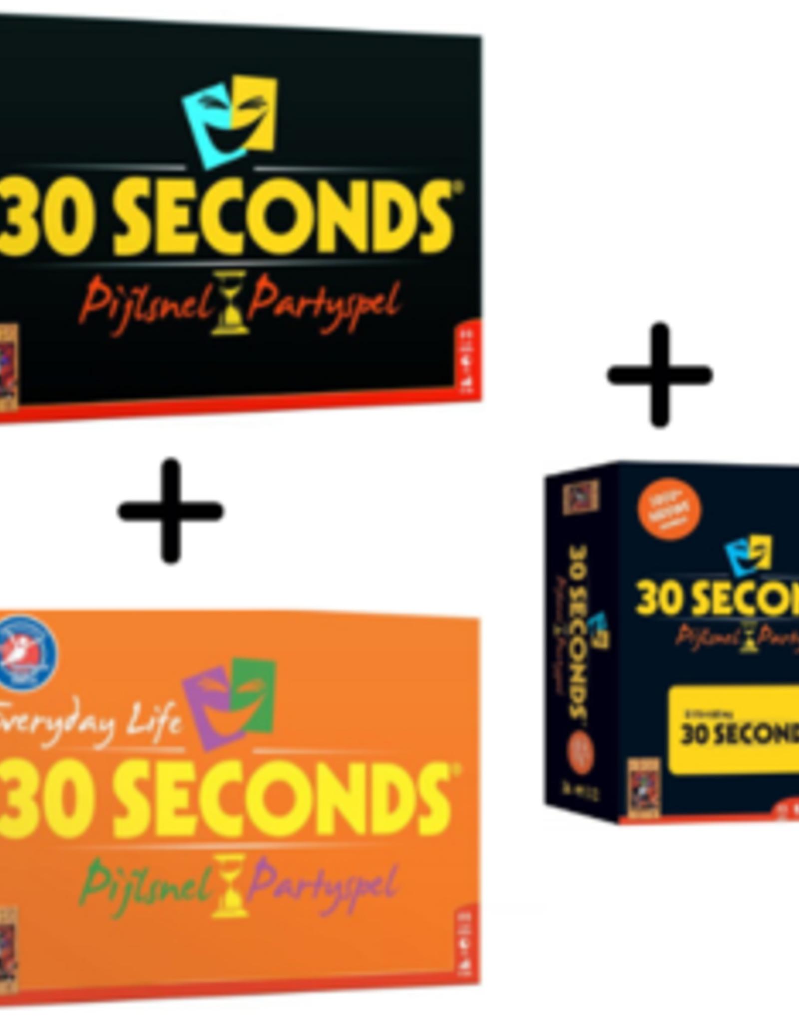 999-Games 30 Seconds Bundel: Basisspel, Everyday-editie en uitbreiding (NL)