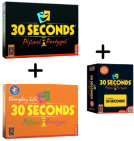 999-Games 30 Seconds Bundel: Basisspel, Everyday-editie en uitbreiding (NL)
