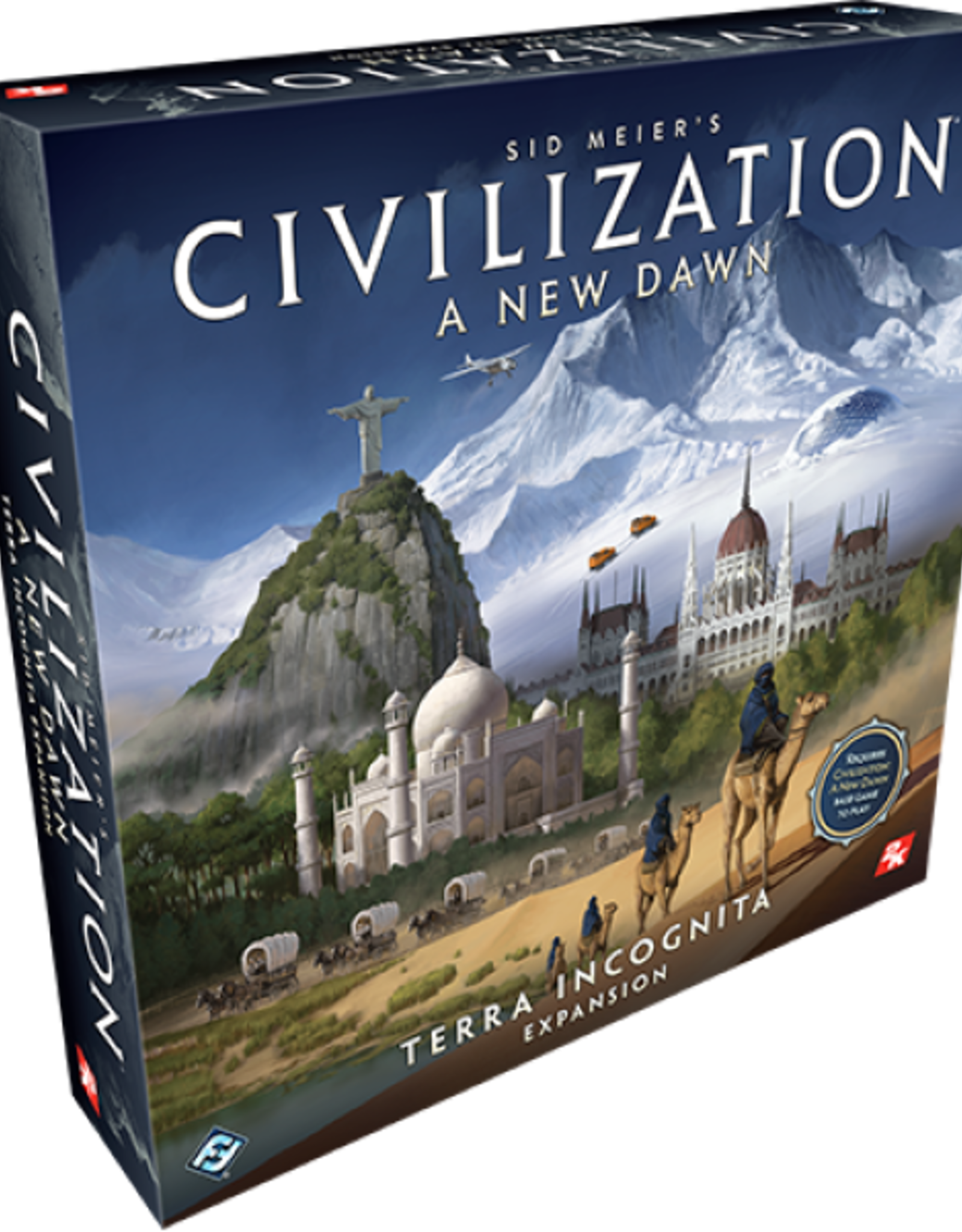 Fantasy Flight Games Civilization: A New Dawn - Terra Incognita (EN)