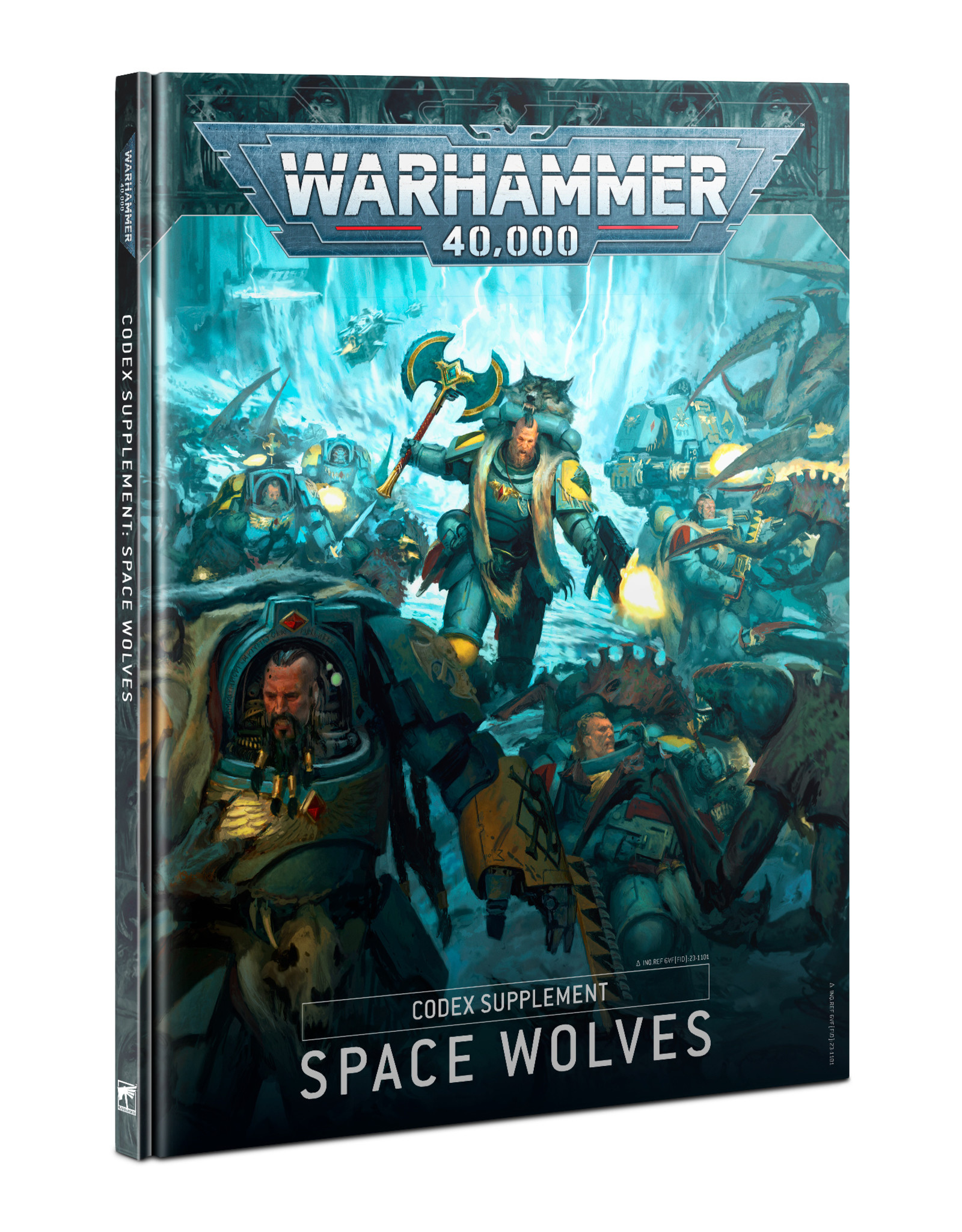 Games Workshop Codex Supplement Space Wolves