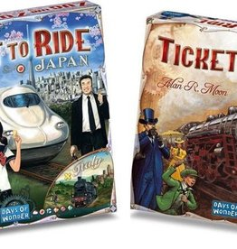 Days of Wonder Ticket to Ride Combi-Deal: basisspel USA (NL) en Japan/Italy
