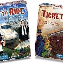 Days of Wonder Ticket to Ride Deal: basisspel USA (NL) en Japan/Italy