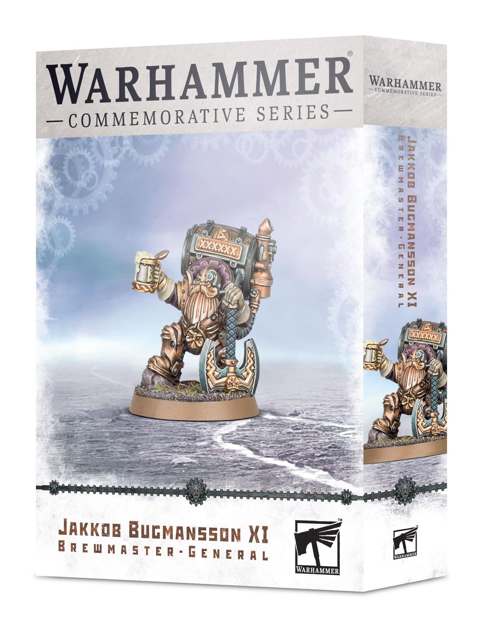 Games Workshop Age of Sigmar Jakkob Bugmansson XI: Brewmaster General