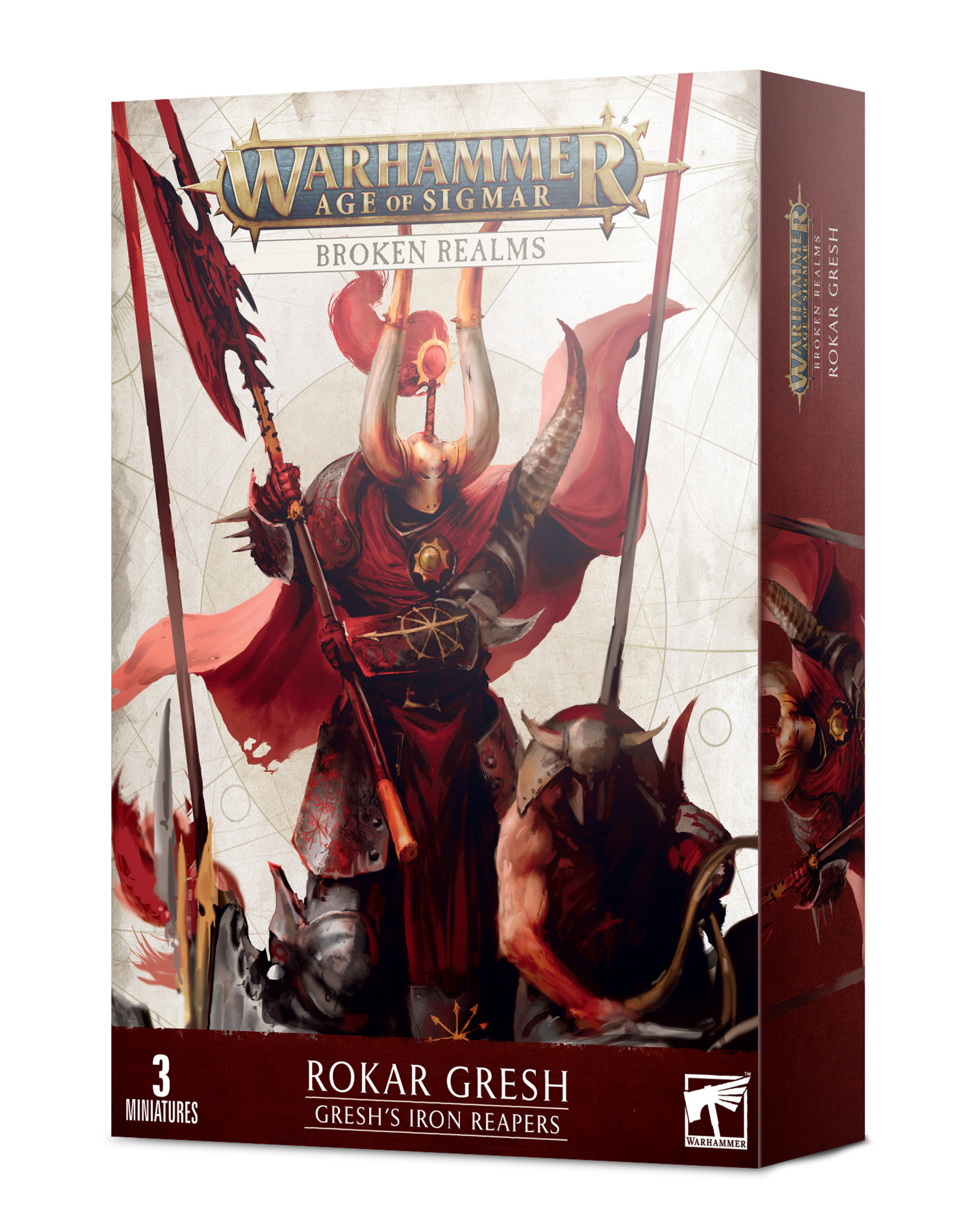 Games Workshop Age of Sigmar Broken Realms: Gresh's Iron Reapers