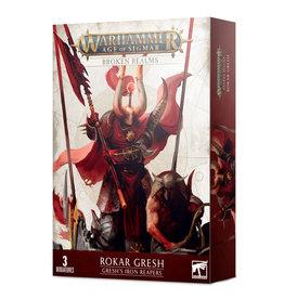 Games Workshop Age of Sigmar Broken Realms: Gresh's Iron Reapers