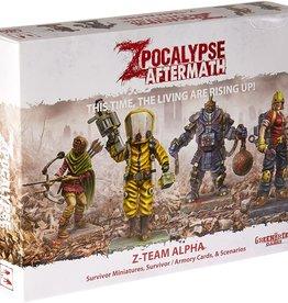 GreenBrier Games Zpocalypse: Aftermath - Z-Team Alpha Pack