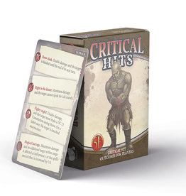 Nord Games Game Master's Toolbox - Critical Hits Deck for Players (5e)
