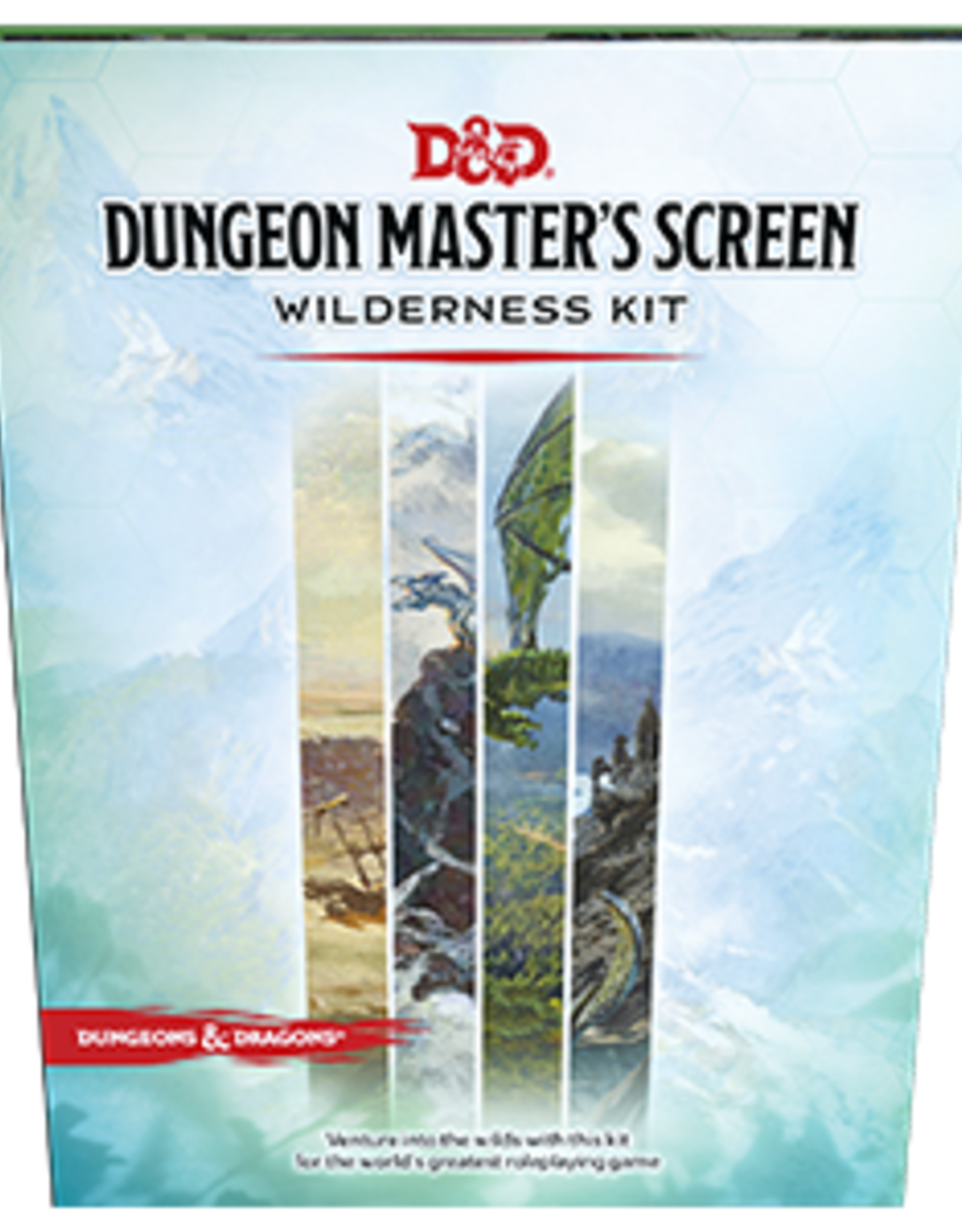 Wizards of the Coast D&D 5th ed. DM Screen Wilderness Kit