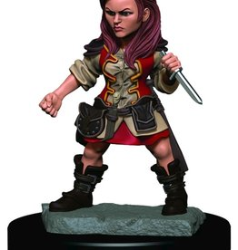 Wizkids D&D Icons of the Realms Halfling Rogue, Female