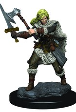Wizkids D&D Icons of the Realms Human Barbarian, Female