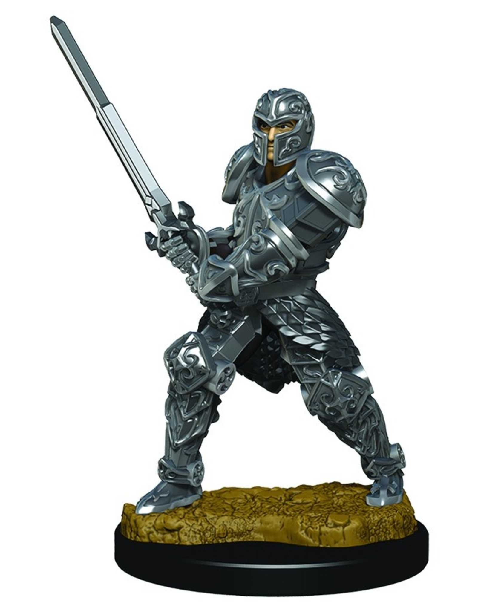 Wizkids D&D Icons of the Realms Human Fighter, Male