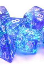 Chessex Chessex 7-Die set Borealis Luminary  - Purple/White