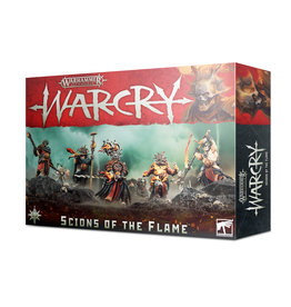 Games Workshop Warhammer Age of Sigmar Warcry: Scions of the Flame