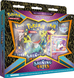 Pokemon USA POK Shining Fates Mad Party Pin Collection