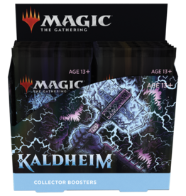 Wizards of the Coast MtG Kaldheim Collector Booster Box (12)