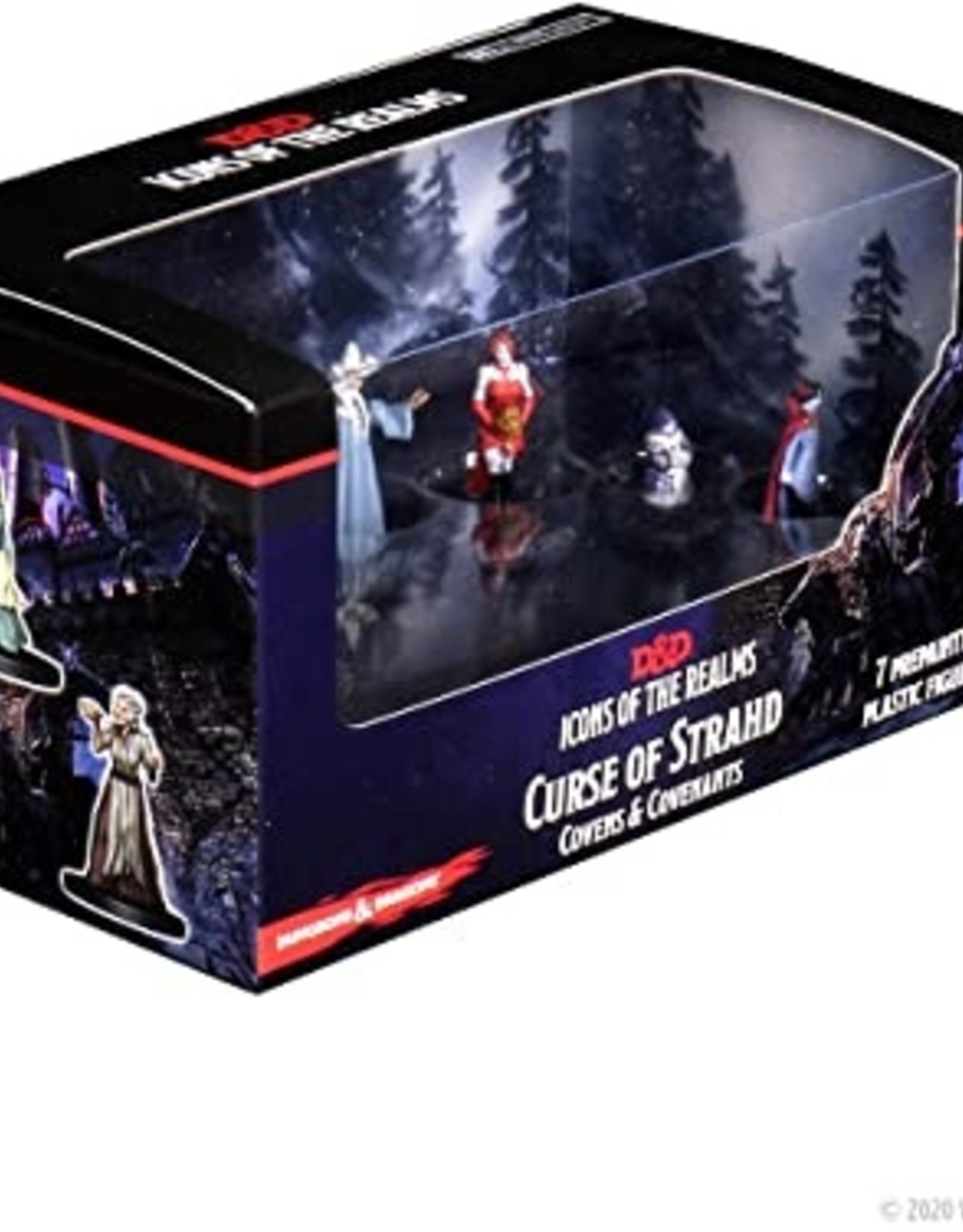 Wizkids D&D Icons of the Realms: Curse of Strahd - Covens & Covenants Premium Box